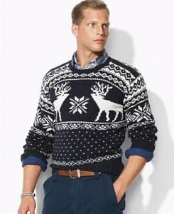 светр з оленями