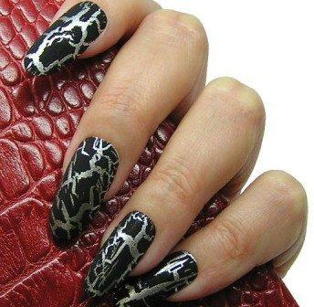 Вантажний шик: лак для нігтів кракелюр