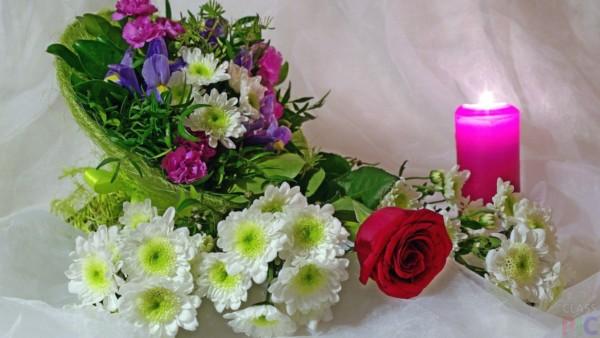 Какие подарить девушке цветы: букет хризантем