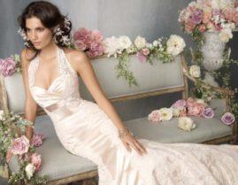 Обтягивающий лиф для невесты
