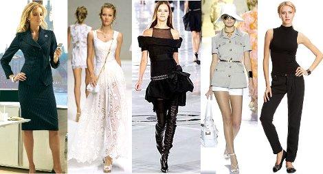 Основні різновиди стилів в одязі  499f1da3a7143