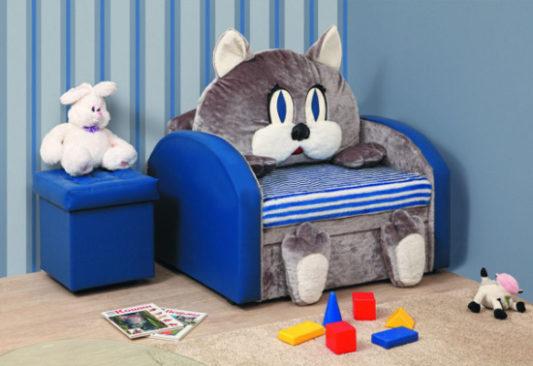 Мебель для детской комнаты: кресло-кровать