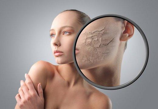 Догляд за сухою зневодненою шкірою обличчя