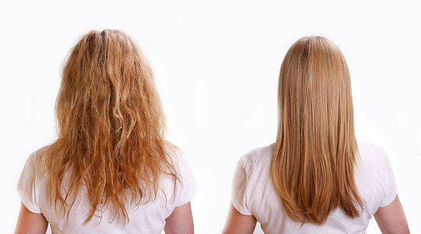 Натуральні засоби для випрямлення волосся