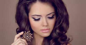 макияж для вечеринки