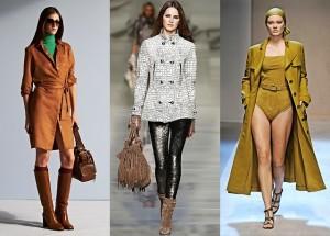 Верхній одяг: вибір навесні 2014