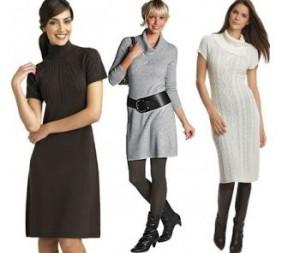 Як вибрати плаття для зими?