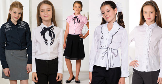Традиционные блузки для девочек