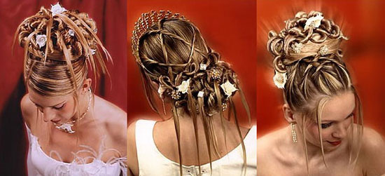 Правила вибору ідеальної весільної зачіски